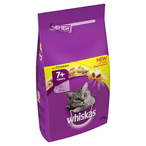 whiskas 7+ Katzen Trockenfutter (1,9kg) (Huhn)