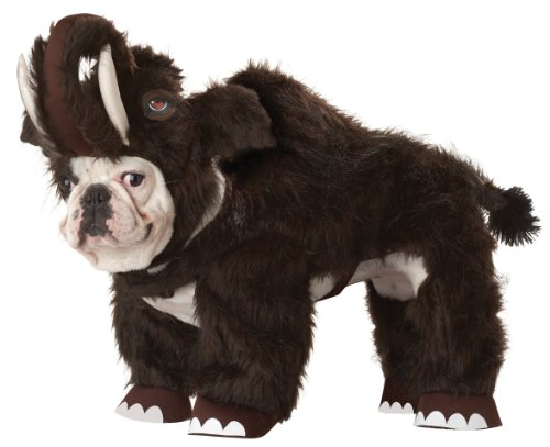 Animal Planet Chien en Peluche Mammouth Costume pour Chien, Taille XS