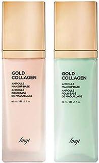 The Face Shop FMGT.B. Gold Collagen Ampoule Makeup Base, Mint, 1 ml