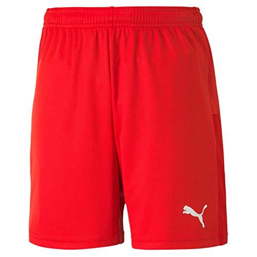 PUMA Jungen teamGOAL 23 knit jr Shorts, Red, 140