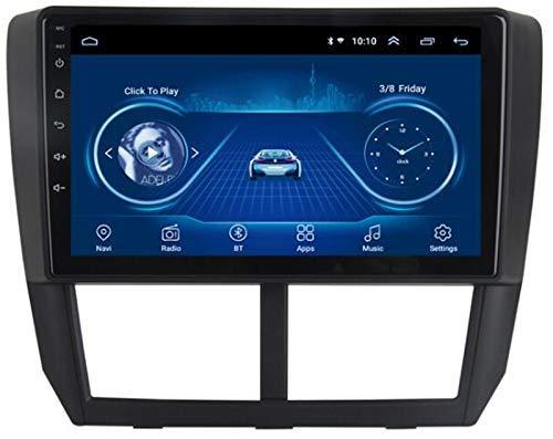 Android 10.0 Coche Navi Multimedia Player Radio Video Audio Stereo para Subaru FORTER 2008-2012 GPS Sistema de navegación GPS SWC FM Mirror Link Bluetooth
