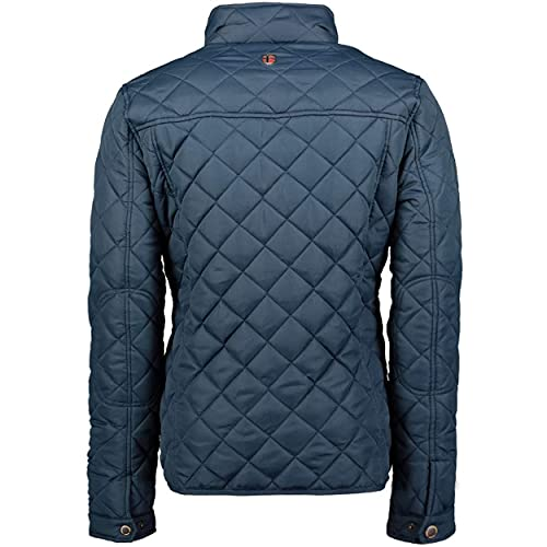 Geographical Norway, Men's Quilted Jacket, Mid-Season Dathan Jacket, Navy S