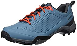 SHIMANO Men's Shmt3og430sb00 Road Cycling Shoes, Blue, 43 EU