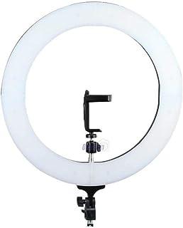 """Kit Iluminador LED Ring Light 18"""" Circular Foto Make com Tripé 2,10m"""