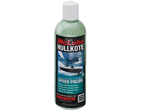 McLube Hullkote Speed Polish-Pint - Das langlebige Hochglanz-Finish Weist Wasser ab und reduziert den Luftwiderstand für ultraschnelle Ergebnisse
