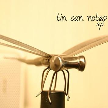 Tin Can Notes EP