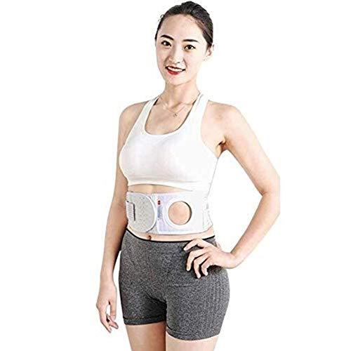 Stoma-Gürtel - atmungsaktiv Stoma Bandage Haut Stoma-Versorgung, Post Colostomy Bauch Stoma Bandage, Bauch- und Rückenstützgurte (Color : 7cm-XL)