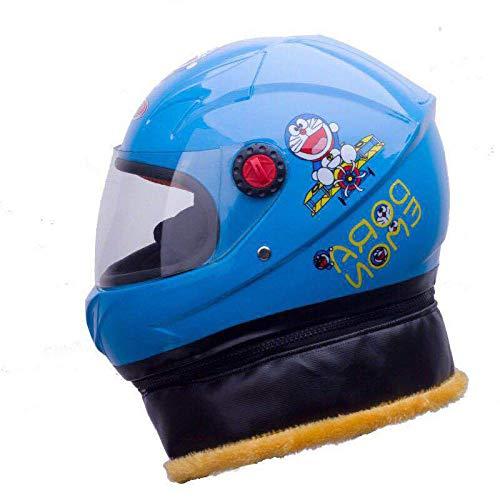 Motorfiets kind baby warme helm kind sjaal helm afneembaar