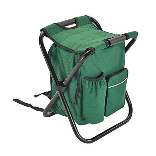 T-ara Suave y confortable Libre del bolso de la silla plegable de la pesca acampar heces mochila portátil bolsa de picnic aislamiento congelador asiento escalada comer bolsa de mesa oso silla de 150kg