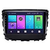 Nav Android 10.0 Car Stereo Double DIN para SsangYong Rexton 2017-2020 Navegación GPS Unidad Principal de 10 Pulgadas Reproductor Multimedia MP5 Receptor de Video y Radio con 4G WiFi DSP Carplay