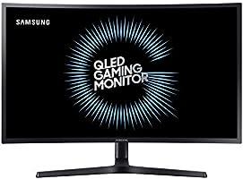 "Samsung C27HG70 27"" VA Panel QLED Curved Monitör, 2K, FreeSync, 144 Hz"
