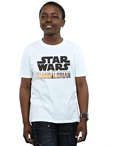 Star Wars The Mandalorian Boys The Child Strong - Maglietta con logo del bambino, confezione da 2 Multi 12-13 Anni
