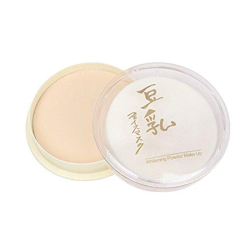 HuntGold soins de la peau grasse lait de soja gel naturel maquillage correcteur poudre pour le visage - 1
