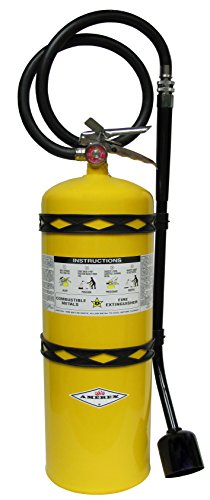 Amerex B570, 30lb Sodium Chloride Class D Fire Extinguisher, For Combustible Metals or Metal Alloys