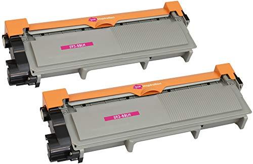 2 Compatible Laser Toner Cartridges for Dell E310DW, E514DW, E515DW, E515DN | 593-BBLH PVTHG 2,600 Pages