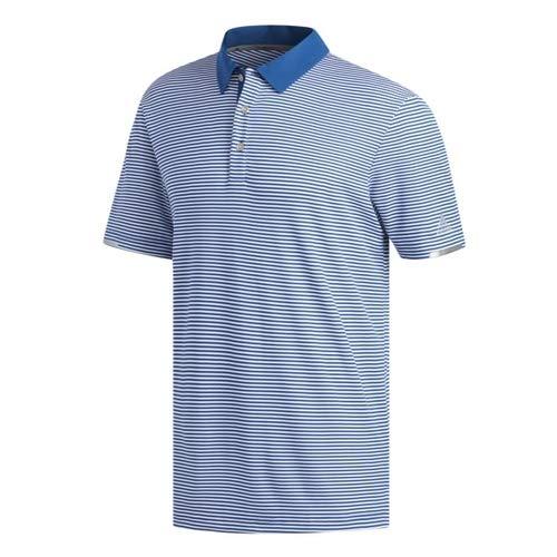 adidas Climachill Tonal Stripe Polo Shirt, Bleu (Azul MarinoBlanco Dq2250), X Large Homme