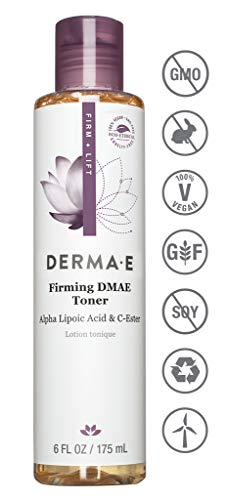 DERMA E Firming DMAE Facial Toner with Alpha Lipoic Acid, 6 oz