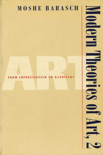 Modern Theories of Art 2: From Impressionism to Kandinsky (English Edition)