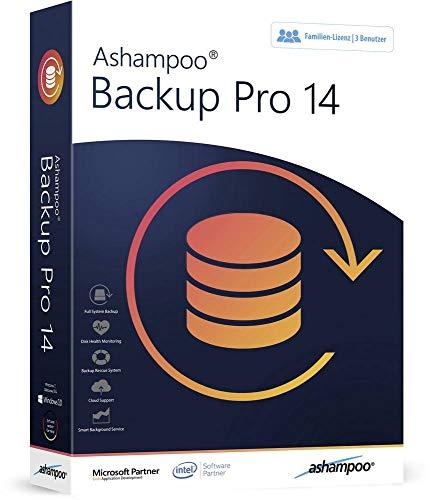 Ashampoo Backup Pro 14 Vollversion, 3 Lizenzen Windows Backup-Software