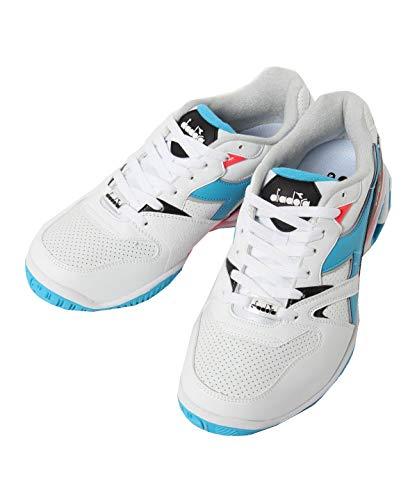 Diadora Speed Stark Duratech Ag - Zapatillas de tenis para hombre, color blanco, azul claro 41