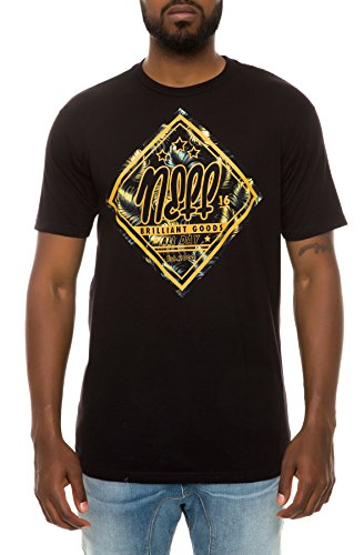 NEFF Goods T-Shirt Homme, Black, FR : L (Taille Fabricant : L)