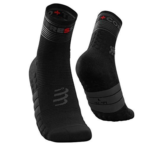 Compressport Pro Racing Socks V3.0 Run High Flash Zwart