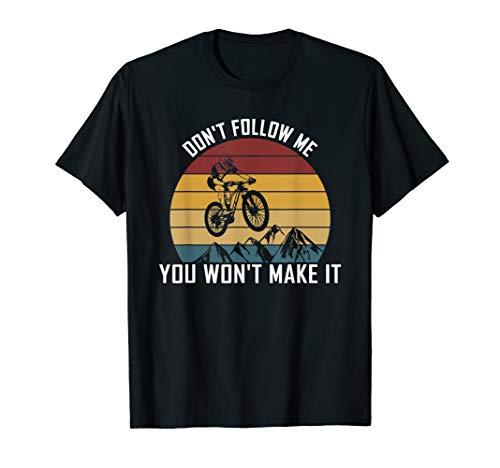 MTB Bike Quote   Downhill & Mountain Bike Bicycle T-Shirt