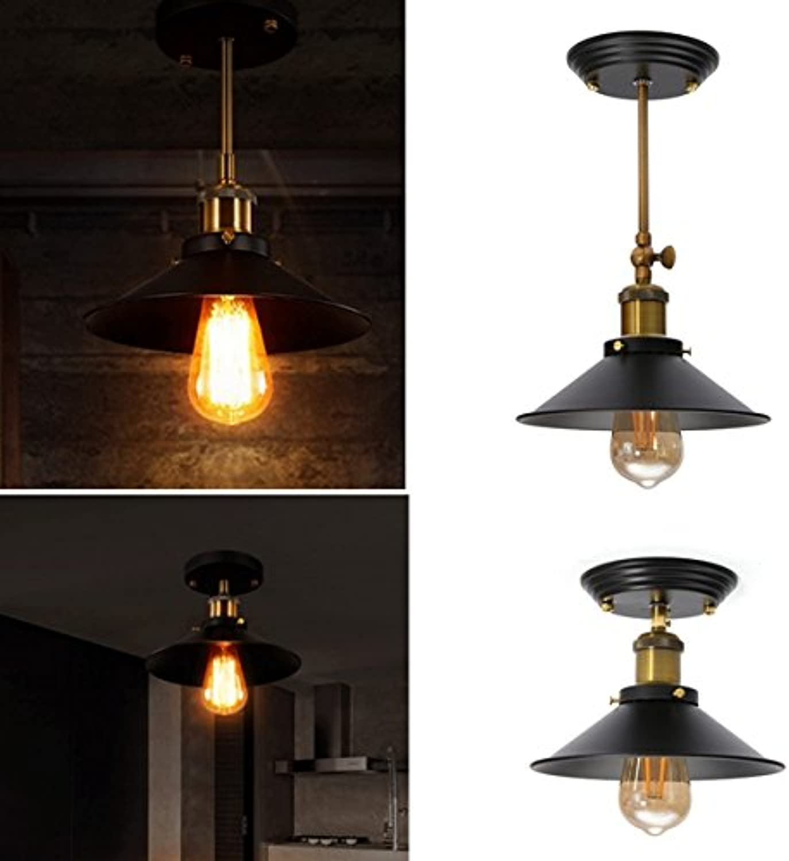 JINHUGU Retro Industrial E27 E27 E27 Wandleuchte Light Vintage Hang Pendant Deckenleuchte New (Farbe   Type 2) B07K5YF4NS | Starker Wert  9f7e90