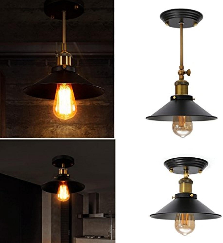 JINHUGU Retro Industrial E27 Wandleuchte Light Vintage Hang Pendant Deckenleuchte New (Farbe   Type 2) B07K5YF4NS | Starker Wert