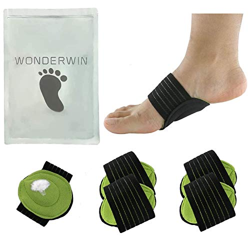 Arch Support,2 Pairs Compression Fasciitis Cushioned Support Sleeves, Plantar Fasciitis Foot Relief Cushions for Plantar Fasciitis, Fallen Arches, Achy Feet Problems for Men and Women…