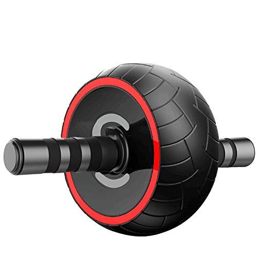 Abdominal Rad Bauchtrainer der Männer runde Bauch Übung Fitnessgeräte zu Hause Frau reduzieren Bauch rollen Scheibe mute