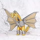 Jin Chuang Godzilla King Ghidorah Gold King of The Rodan Mothra Action Figure Mecha Godzilla 3 Head Gojira Dragon Collection Toy