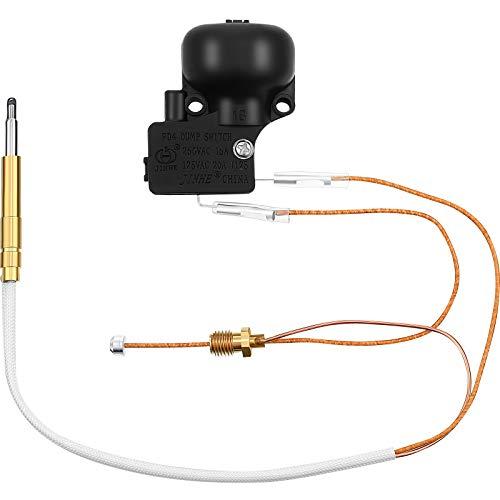 Honoson - Kit de reparación de calefactores de patio y termopar FD4 interruptor de descarga para habitaciones de jardín y accesorios de calentador al aire libre
