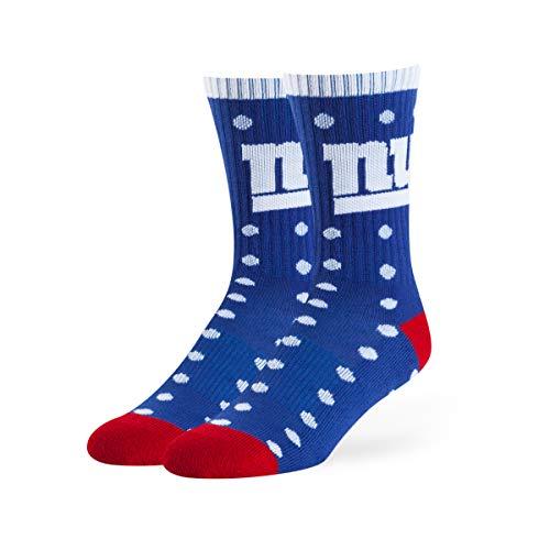 OTS NFL New York Giants Women's Lucelle Sport Sock, Team Color, Medium