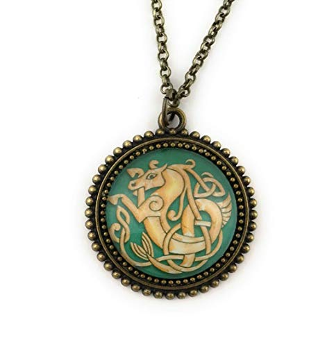 Celtic Horse Jewelry Seahorse Necklace