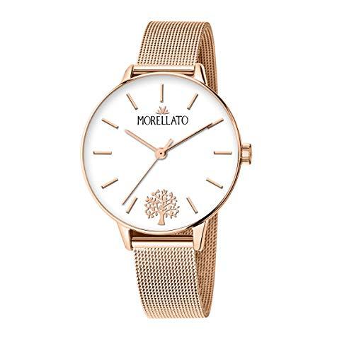 Morellato Orologio da donna, Collezione Ninfa, in acciaio, PVD oro rosa - R0153141540