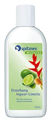 """Einreibung\""""Ingwer-Limette\"""" von Spitzner - 200 ml"""