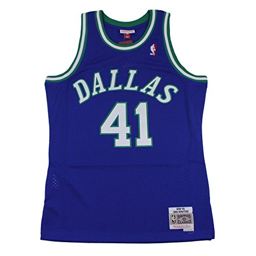 Mitchell & Ness M&N Swingman Jersey Dirk Nowitzki Dallas Mavericks 1996-97 NBA Trikot