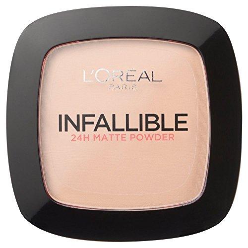 Unfehlbare Puder-Grundlage Kompakt durch L'Oreal Paris 123 Warme Vanille