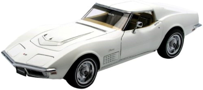 1970 Chevrolet Corvette Classic White 1 18 Autoart [Toy] (japan import)