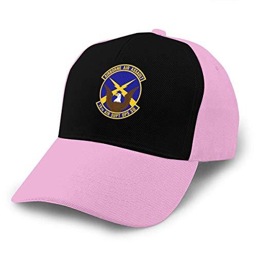 Qinckon 19 ° Escuadrón de Operaciones de Apoyo aéreo Gorra de béisbol Gorra Ajustable Sombrero Ordinario