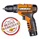 Worx WX125 D-Lite - Destornillador de batería (12V,...