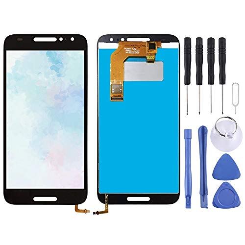 Cqu repareren van het LCD-scherm, mobiele telefoononderdeel van het nieuwe LCD-scherm en de Digitizer-constructie voor de telefoon Alcatel A3 5046 / 5046D / 5046X / OT5046, zwart