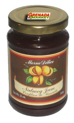 Nutmeg JAM - Gourmet Product of Grenada (340g - 12 Oz)