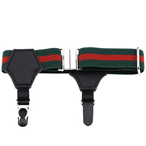 RENYZ.ZKHN Buckle Ring Clip Leg Garter Gourd Socks Clamp Double Suspender Buckle Clip Socks
