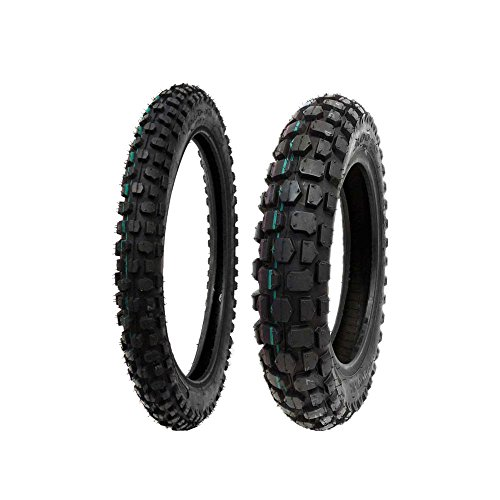 MMG Tire Set, Front 2.50-14 Rear 3.00-12 Dirt Bike Off Road