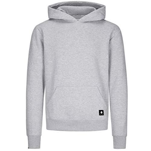 urban ace | Hoodie, Kapuzenpullover, Pullover | Herren, Unisex | für Fitness und Freizeit | grau oder schwarz | weich, mit hochwertiger Verarbeitung | S, M oder L (grau, L)