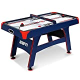EA Sports 60 Inch Air Powered Hockey Table with Overhead...