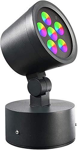 LED-Strahler für Projektor RGB 16 W Spiele Licht bunte Fassade Statue DMX 24 V IP65 RGBCW