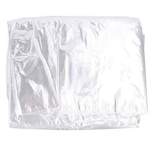 Eosnow Bolsas Transparentes para Ropa Colgante, Ropa Lisa Bolsas A Prueba De Polvo Variedad Protectora para Interiores para Trajes(60 * 100)